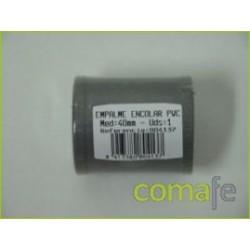 MANGUITO H-H EVACUACION PVC 40MM 804137 UNIDAD - Imagen 1