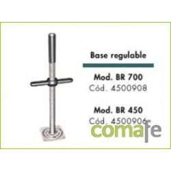 BASE ANDAMIO REGULABLE 450 UNIDAD 4500906 - Imagen 1