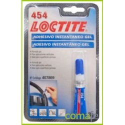 ADHESIVO LOCTITE GEL 454 3 GR.407869 - Imagen 1
