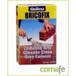 CEMENTO GRIS BRICOFIX 1,5 KG. 88153 - Imagen 1