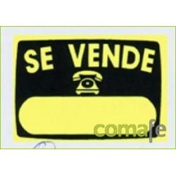 """CARTEL """"SE VENDE"""" RADIANTE V51 50X35 UNIDAD - Imagen 1"""