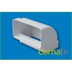 CODO VERTICAL 110X55 REF.530 - Imagen 1