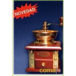 MOLINO CAFE DECORATIVO DORADO 10001 UNIDAD - Imagen 1