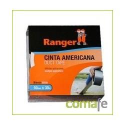 CINTA AMERICANA RANGER BLANCA 50X10  10706 - Imagen 1