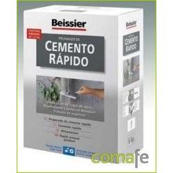 CEMENTO RAPIDO GRIS POLVO INTER/EXT BEISSIER ESTUC 1,5KG 621 - Imagen 1