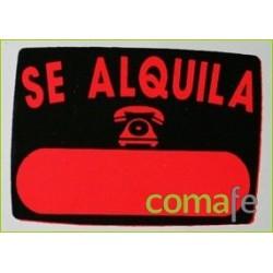 "CARTEL""SE ALQUILA""RADIANTE 50X70 V9 UNIDAD - Imagen 1"