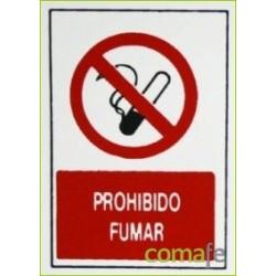 "PLACA""PROHIBIDO FUMAR""30X20 H2 - Imagen 1"