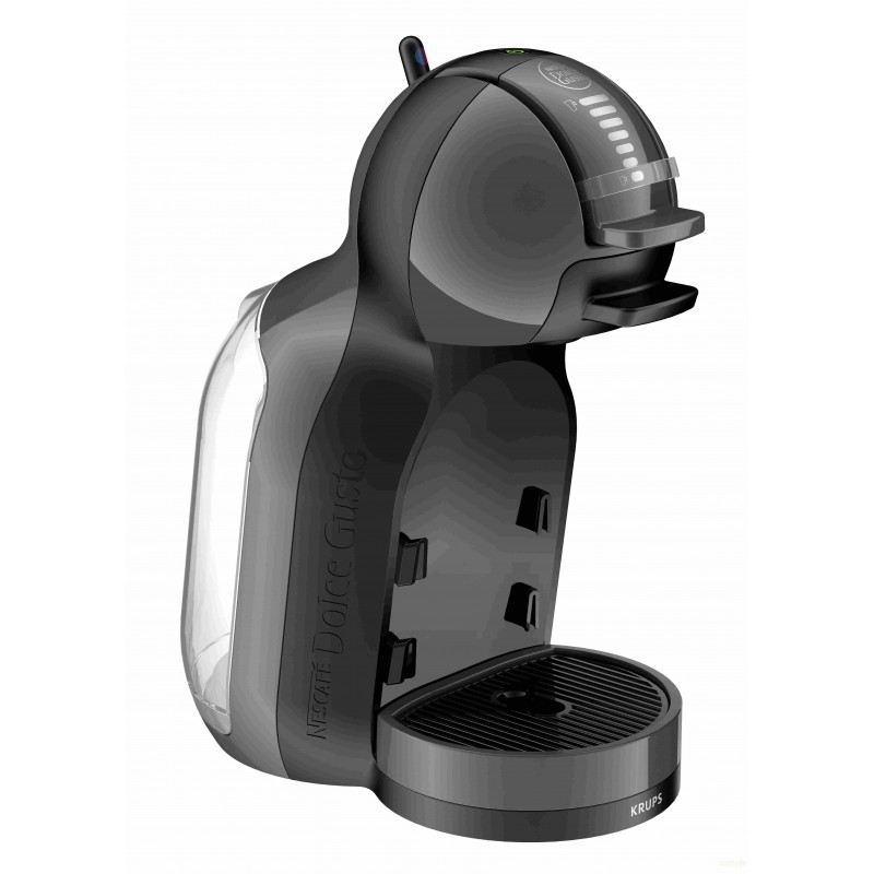 CAFETERA NEGRA/GRIS KRUPS DOLCE GUSTO MINI ME - Imagen 1