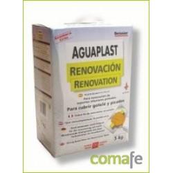 PLASTE AGUAPLAST RENOVACION BLANCO INTERIOR ESTUCHE 5KG 806 - Imagen 1